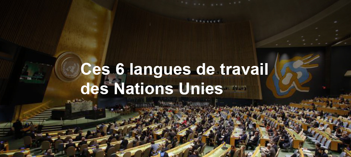 6 Langues de Travail des Nations Unies